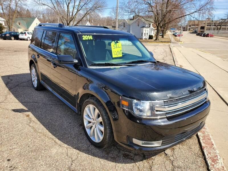 2014 Ford Flex for sale at Vossen Auto LLC in Blue Earth MN
