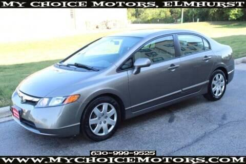 2007 Honda Civic for sale at My Choice Motors Elmhurst in Elmhurst IL