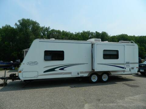 2004 Trail Cruiser 27RKS for sale at Triple R Sales in Lake City MN