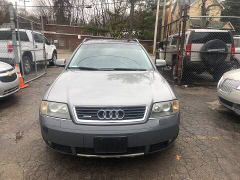 2004 Audi Allroad for sale at Six Brothers Auto Sales in Youngstown OH