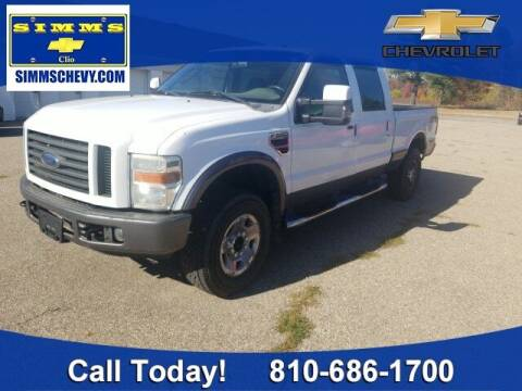 2008 Ford F-250 Super Duty for sale at Aaron Adams @ Simms Chevrolet in Clio MI