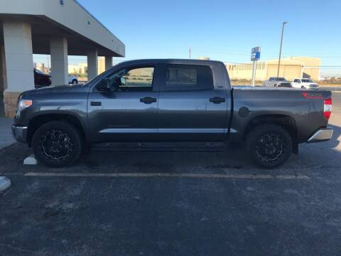 2017 Toyota Tundra for sale at STANLEY FORD ANDREWS in Andrews TX