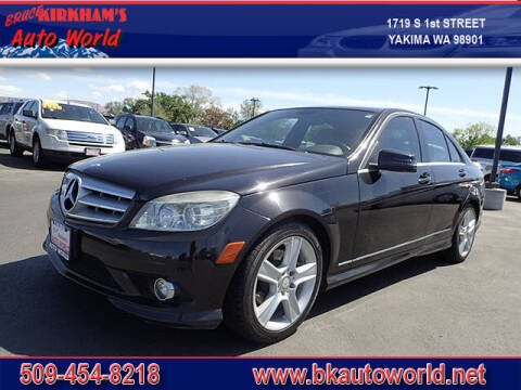 2010 Mercedes-Benz C-Class for sale at Bruce Kirkham Auto World in Yakima WA