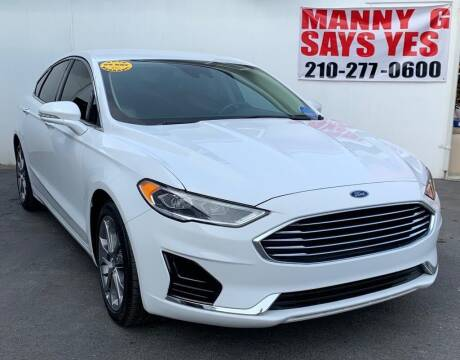 2019 Ford Fusion for sale at Manny G Motors in San Antonio TX