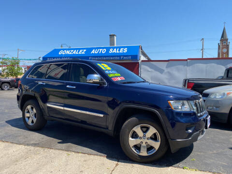 2013 Jeep Grand Cherokee for sale at Gonzalez Auto Sales in Joliet IL