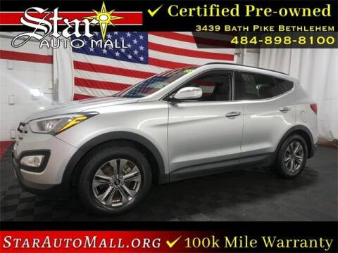 2016 Hyundai Santa Fe Sport for sale at STAR AUTO MALL 512 in Bethlehem PA