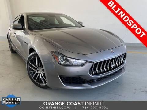 2018 Maserati Ghibli for sale at ORANGE COAST CARS in Westminster CA