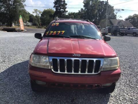 2002 Jeep Grand Cherokee for sale at K & E Auto Sales in Ardmore AL
