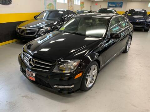 2014 Mercedes-Benz C-Class for sale at Newton Automotive and Sales in Newton MA