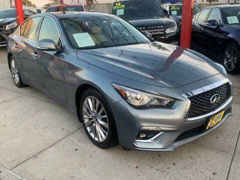2018 Infiniti Q50 for sale at LIBERTY AUTOLAND INC - LIBERTY AUTOLAND II INC in Queens Villiage NY