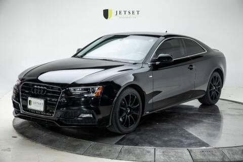 2017 Audi A5 for sale at Jetset Automotive in Cedar Rapids IA