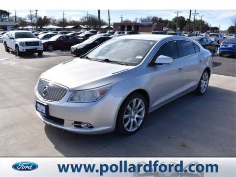 2012 Buick LaCrosse for sale at South Plains Autoplex by RANDY BUCHANAN in Lubbock TX