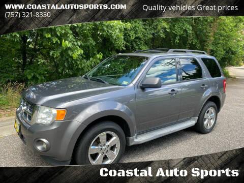 2011 Ford Escape for sale at Coastal Auto Sports in Chesapeake VA