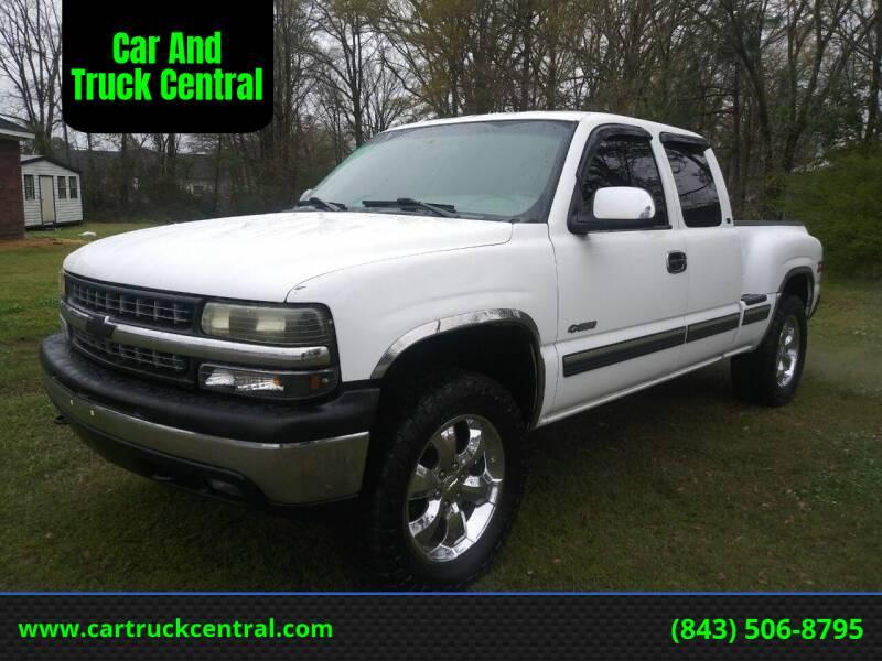 1999 Chevrolet Silverado 1500 for sale at Car And Truck Central in Dillon SC