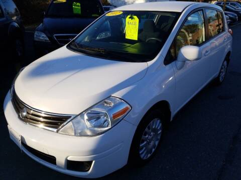 2012 Nissan Versa for sale at Howe's Auto Sales in Lowell MA