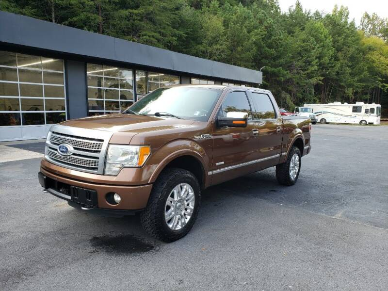 2011 Ford F-150 for sale at Curtis Lewis Motor Co in Rockmart GA