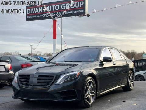 2015 Mercedes-Benz S-Class for sale at Divan Auto Group in Feasterville PA