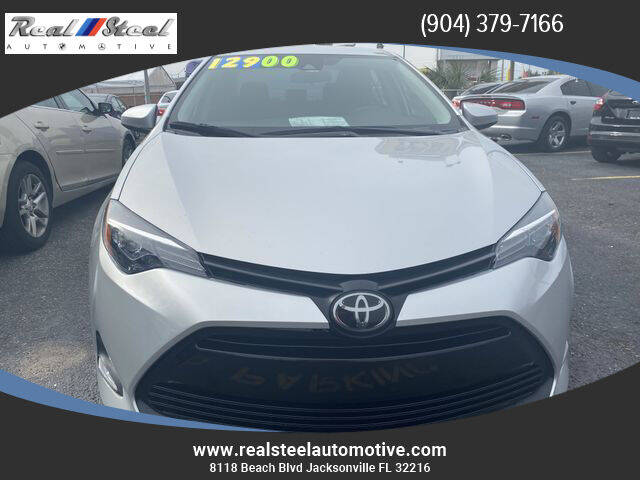 2019 Toyota Corolla for sale at Real Steel Automotive in Jacksonville FL