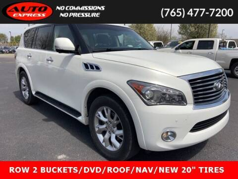 2012 Infiniti QX56 for sale at Auto Express in Lafayette IN