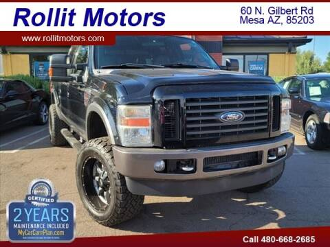 2008 Ford F-350 Super Duty for sale at Rollit Motors in Mesa AZ