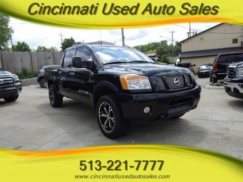 2012 Nissan Titan for sale at Cincinnati Used Auto Sales in Cincinnati OH