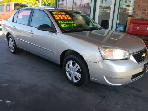 2007 Chevrolet Malibu for sale at Low Auto Sales in Sedro Woolley WA