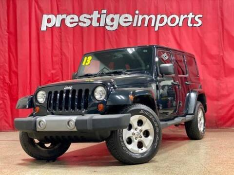 2013 Jeep Wrangler Unlimited for sale at Prestige Imports in St Charles IL