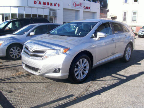 2013 Toyota Venza for sale at Dambra Auto Sales in Providence RI