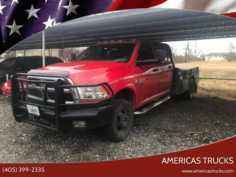 2015 RAM Ram Chassis 3500 for sale at Americas Trucks in Jones OK