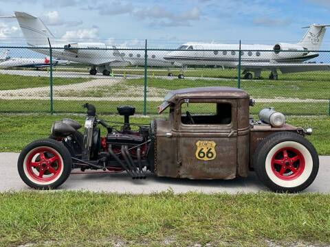 1932 Ford Tudor for sale at KD's Auto Sales in Pompano Beach FL