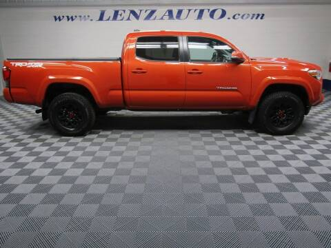 2016 Toyota Tacoma for sale at LENZ TRUCK CENTER in Fond Du Lac WI
