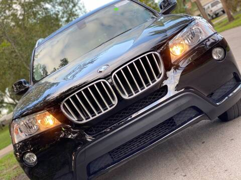 2013 BMW X3 for sale at HIGH PERFORMANCE MOTORS in Hollywood FL