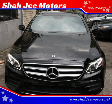 2018 Mercedes-Benz E-Class for sale at Shah Jee Motors in Woodside NY