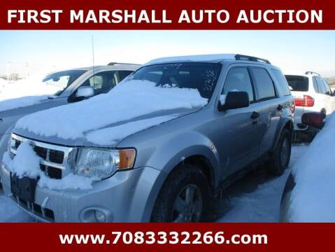 2009 Ford Escape for sale at First Marshall Auto Auction in Harvey IL