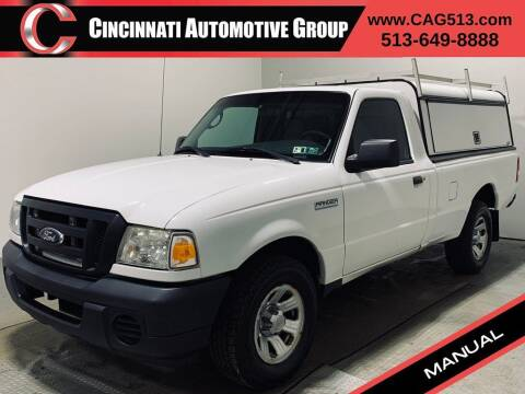2009 Ford Ranger for sale at Cincinnati Automotive Group in Lebanon OH