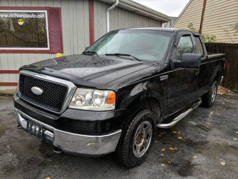 2007 Ford F-150 for sale at Richland Motors in Cleveland OH