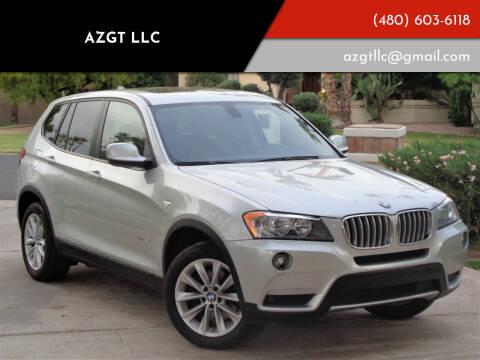 2013 BMW X3 for sale at AZGT LLC in Mesa AZ
