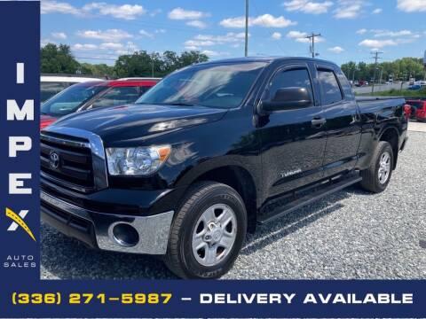 2010 Toyota Tundra for sale at Impex Auto Sales in Greensboro NC