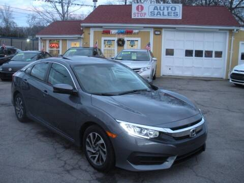 2017 Honda Civic for sale at One Stop Auto Sales in North Attleboro MA