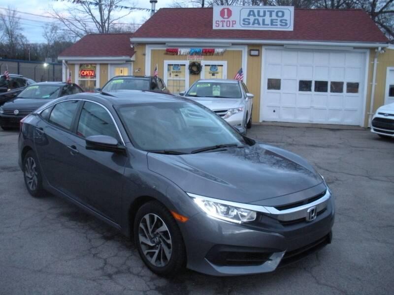 2017 Honda Civic for sale at One Stop Auto Sales in North Attleboro MA