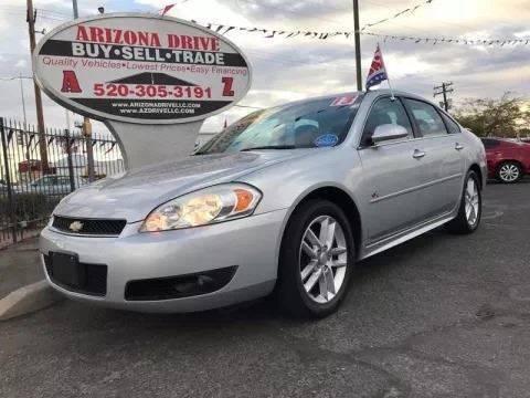 2013 Chevrolet Impala for sale at Arizona Drive LLC in Tucson AZ