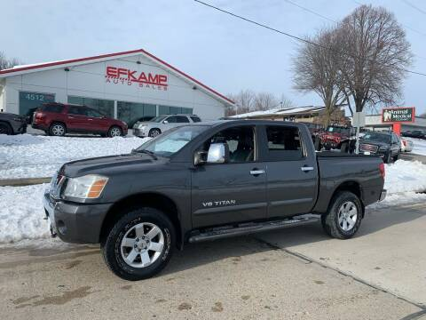 2007 Nissan Titan for sale at Efkamp Auto Sales LLC in Des Moines IA