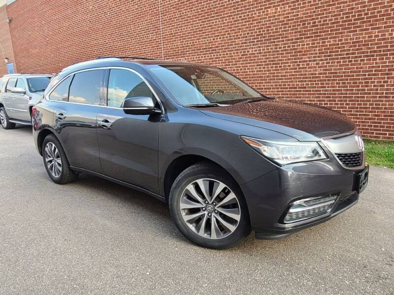 2016 Acura MDX for sale at Minnesota Auto Sales in Golden Valley MN