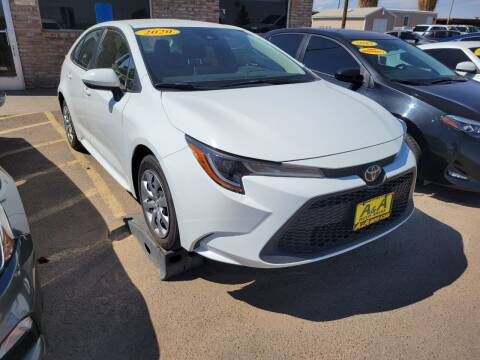 2020 Toyota Corolla for sale at A AND A AUTO SALES in Gadsden AZ