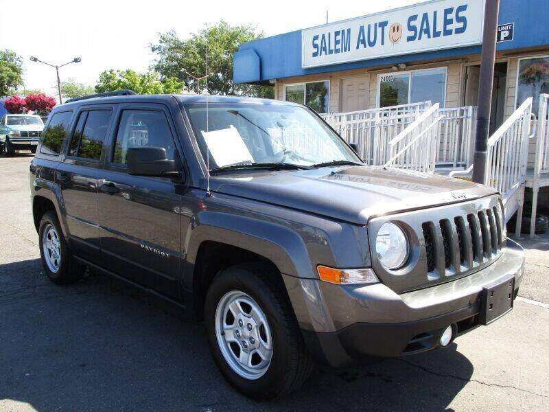 2016 Jeep Patriot for sale at Salem Auto Sales in Sacramento CA