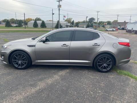 2012 Kia Optima for sale at Diede's Used Cars in Canistota SD