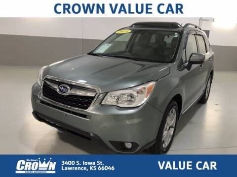 2015 Subaru Forester for sale at Crown Automotive of Lawrence Kansas in Lawrence KS
