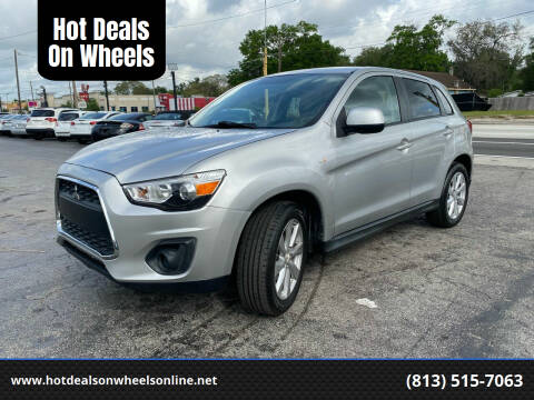 2014 Mitsubishi Outlander Sport for sale at Hot Deals On Wheels in Tampa FL