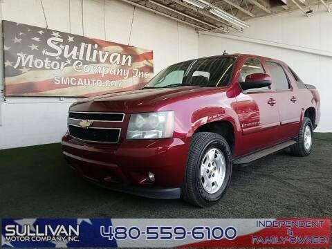 2008 Chevrolet Avalanche for sale at SULLIVAN MOTOR COMPANY INC. in Mesa AZ