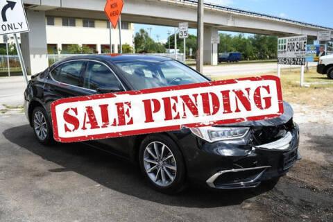 2018 Acura TLX for sale at ELITE MOTOR CARS OF MIAMI in Miami FL